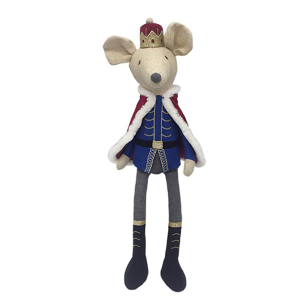 Lux King Mouse Nutcracker Doll