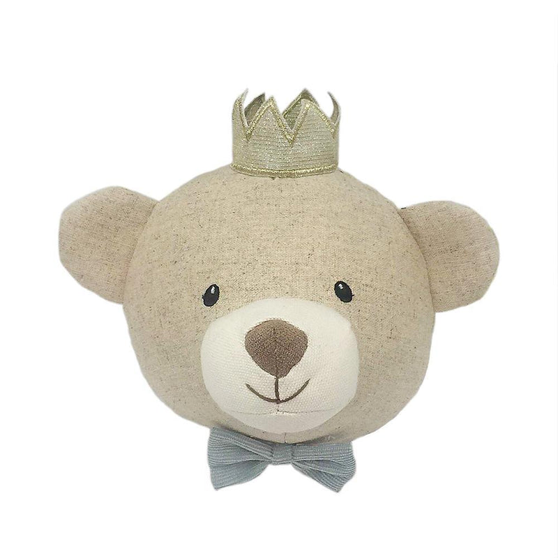 Prince Baldwin Bear Wall Mount
