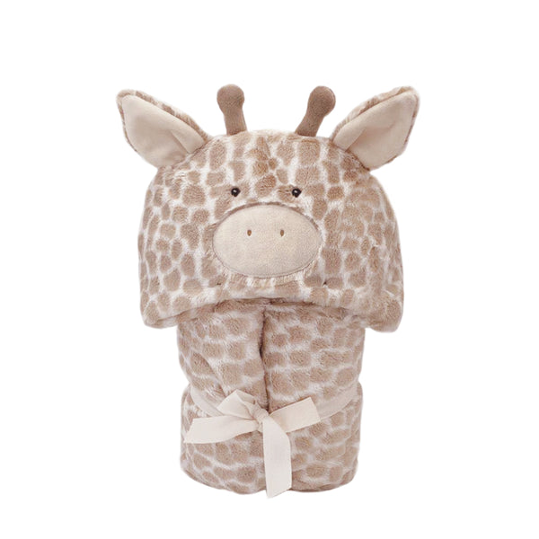 'Gentry' Plush Giraffe Hooded Blanket