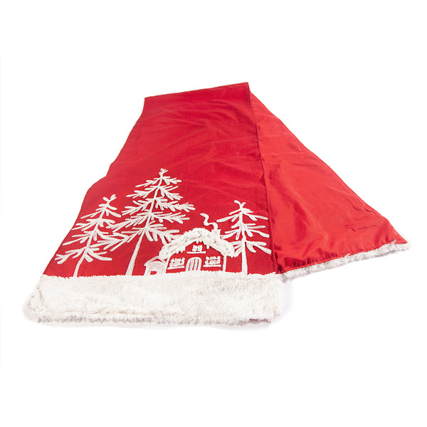 Snowy Village Table Runner