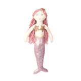 Sequin Mermaid Doll