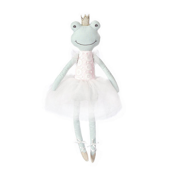 'FLORA' FROG BALLERINA HEIRLOOM DOLL