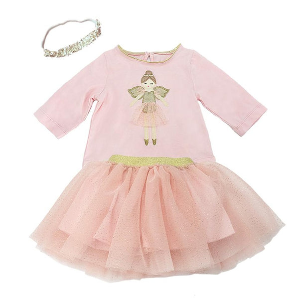 Ballerina 3 Piece Girl's Tutu Skirt Set