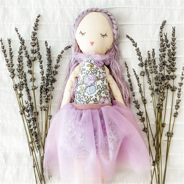 SCENTED HEIRLOOM DOLL 'LAVENDER'