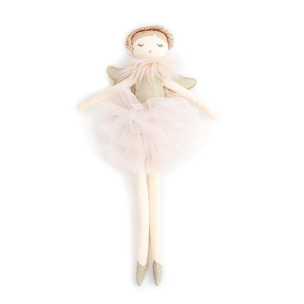 SMALL PINK ANGEL HEIRLOOM DOLL - 'ADELE'