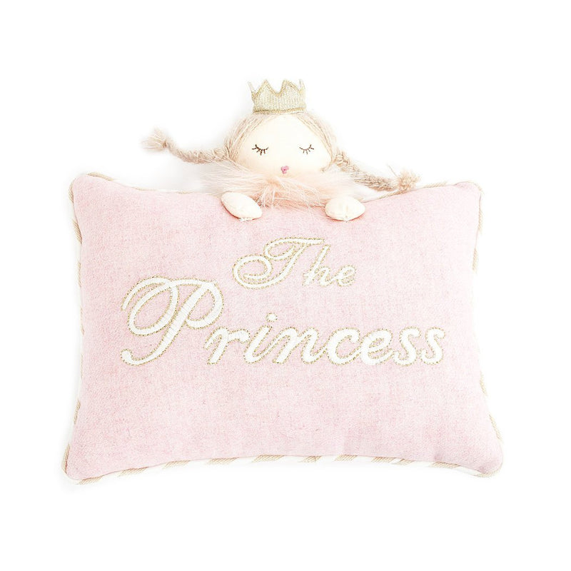 The Princess' Pink Accent Pillow