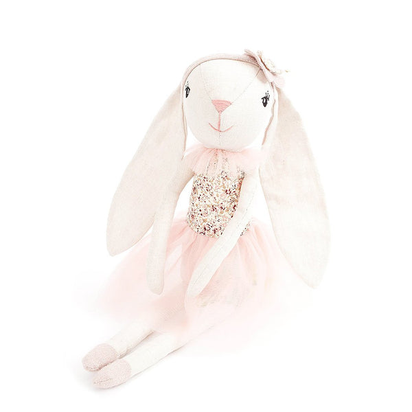 'MAE' FLORAL BUNNY BALLERINA HEIRLOOM DOLL