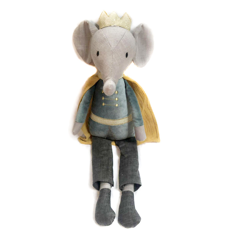 'ELROY' ELEPHANT PRINCE HEIRLOOM DOLL