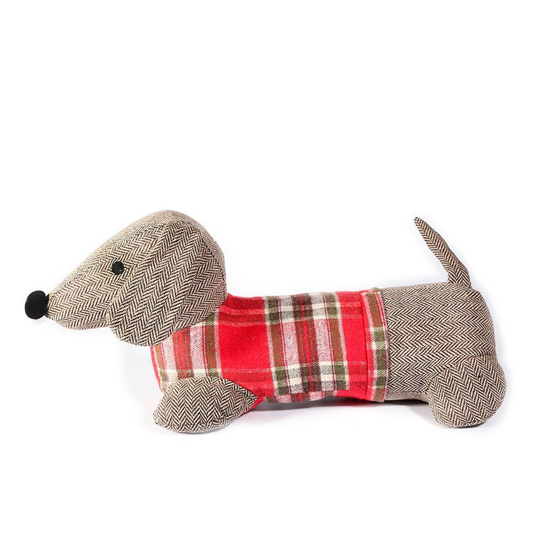 Mon Ami Daschand Weighted Dog Door Stop, 19 in