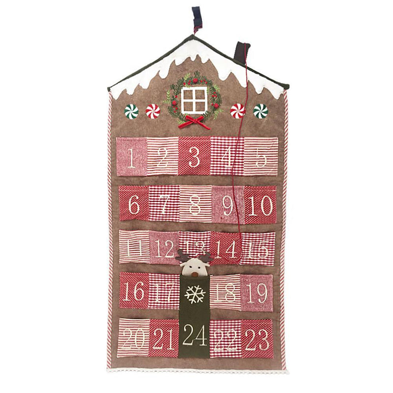 Mon Ami Gingerbread Town House Advent Calendar