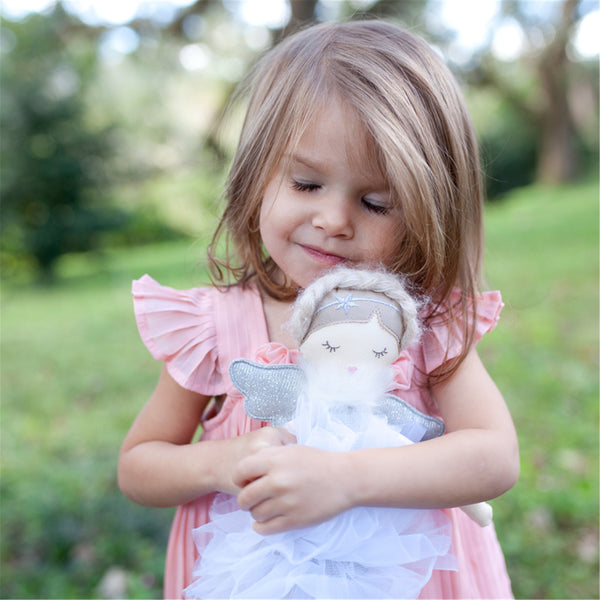 SMALL KEEPSAKE SILVER ANGEL DOLL 'ADELE'