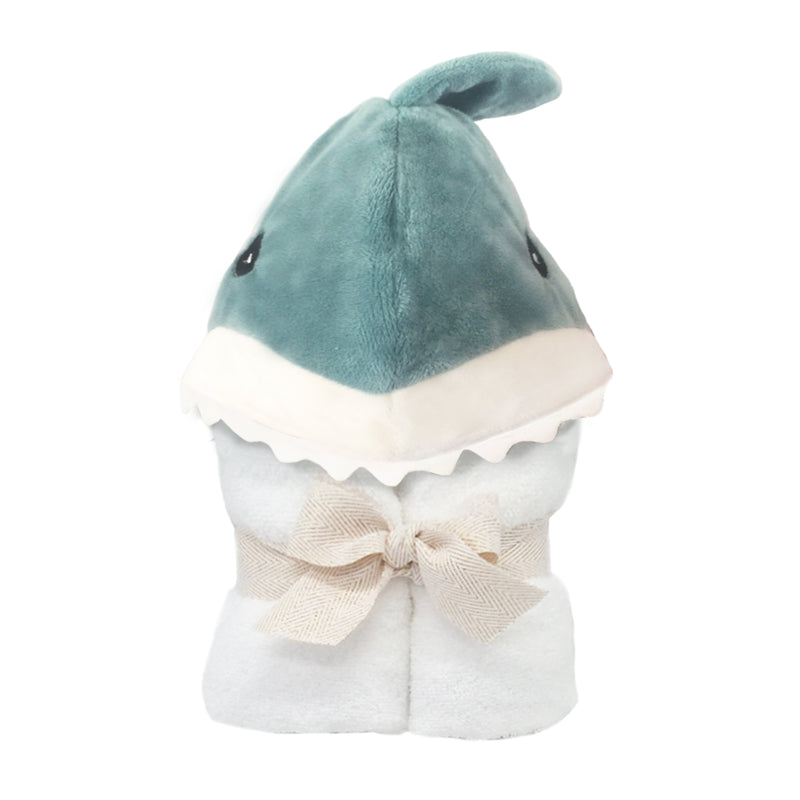 TERRY SHARK BABY TOWEL