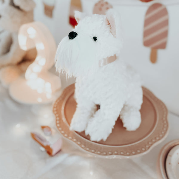 'WES' CREAM WESTIE DOG PLUSH TOY