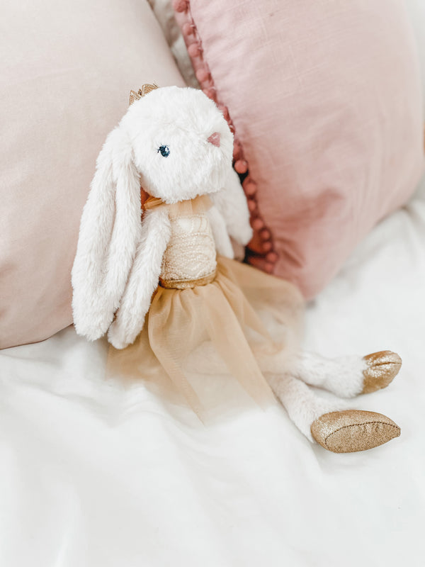 'Bre' Princess Bunny Plush Toy