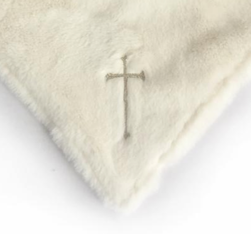 Lamb Religious Baby Security Blanket