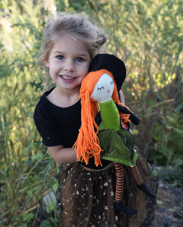 'GWENDOLYN' WITCH PLUSH DOLL