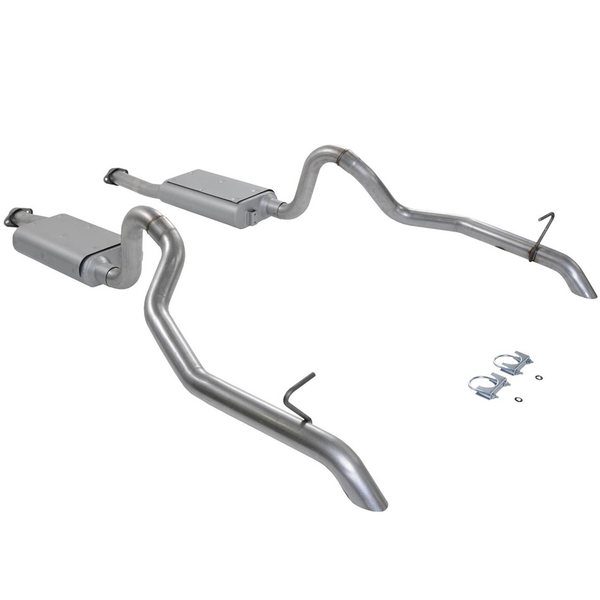 Flowmaster 3-Chamber Catback Exhaust for 85-93 Mustang