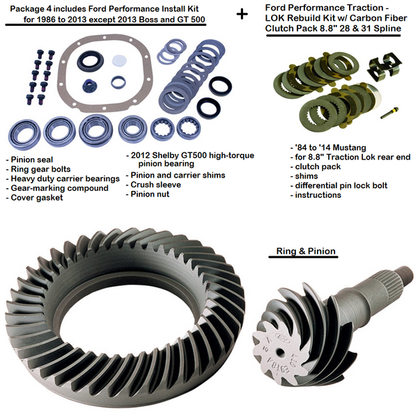 "Ford Performance 8.8"" Foxbody Ring & Pinion Gears - All Sizes - 85 to 14 Mustang"