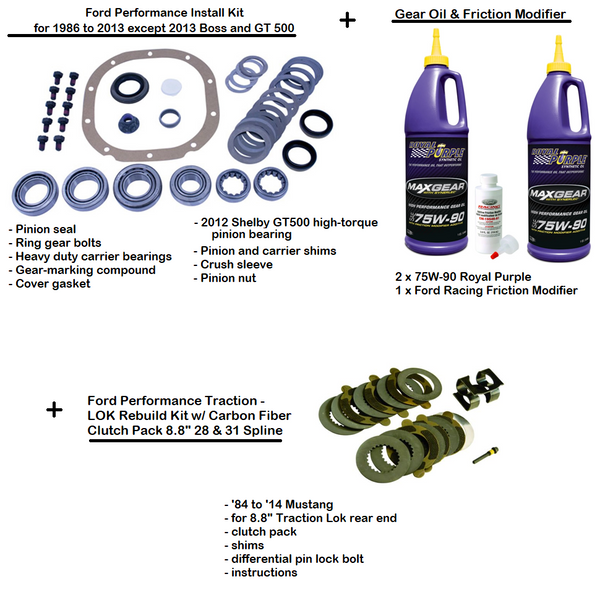 Complete Gear Installation Kit - Ford Performance