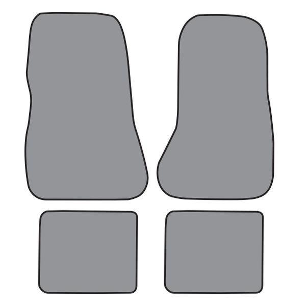 Floor Mats, Ford Fairmont, Plush (not factory correct colors) - 78-83 All