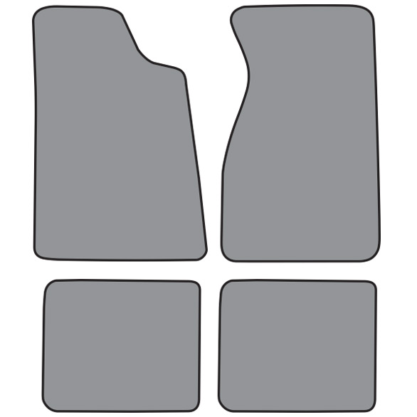 Floor Mats, Ford Mustang, Factory Correct Colors - 79 to 93
