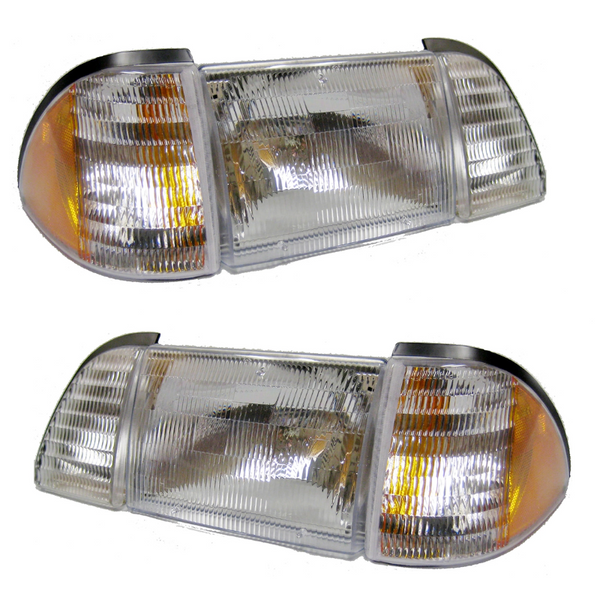 Headlight Kits for 87-93 Foxbody Mustang