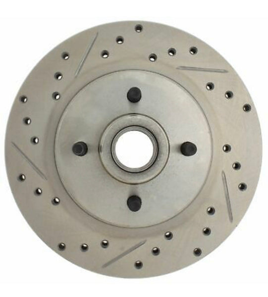 Brake Rotors, 87-93, 4-lug Drilled, Slotted