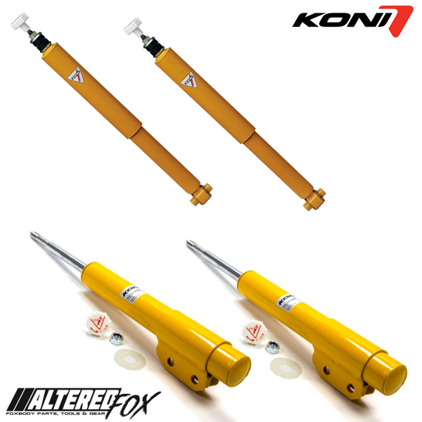 Koni Shocks and Struts - Full Set for 87-93 Foxbody Mustang
