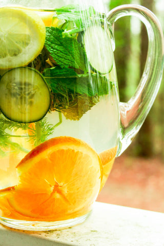 Orange Cucumber Detox Water