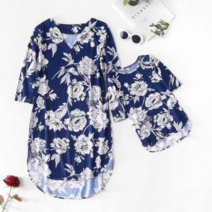 boat neck mom mother and daughter dresses family look mommy and me clothes mum mama baby dress family matching clothes outfits