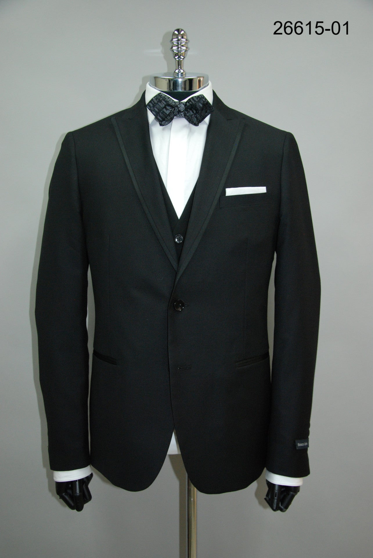 FLIP : PEAK LAPEL EDGE PIPING TUXEDO