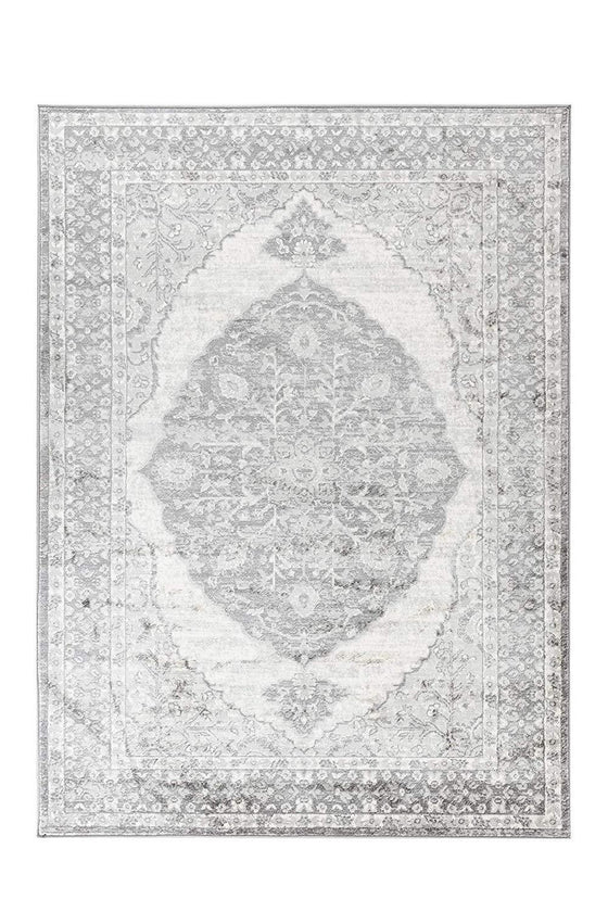 4647 Gray Bohemian Distressed Oriental Area Rugs
