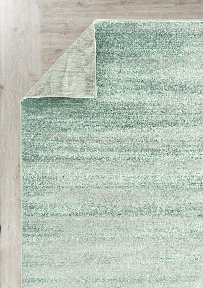 5101 Turquoise Ombre Contemporary Area Rugs