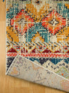 4651 Multi Color Patches Design Distressed Oriental Area Rugs