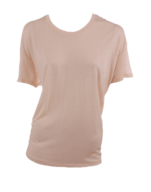 ACNE JEANS CLOTHINGTOPBLOUSE PALEPINK / M Bay Tencel Tee Shirt