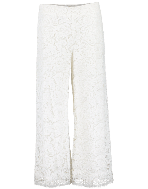 ADAM LIPPES CLOTHINGPANTCROPPED Corded Lace Cropped Pant