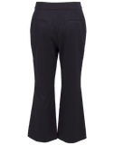 ADAM LIPPES CLOTHINGPANTCROPPED Tropical Wool Bell Crop Pant