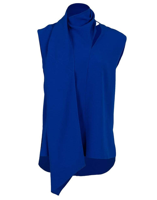 ADAM LIPPES CLOTHINGTOPBLOUSE Scarf Wrap Shell Top