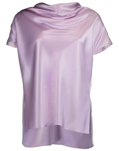 ADAM LIPPES CLOTHINGTOPMISC Lavender Cowl Neck Top