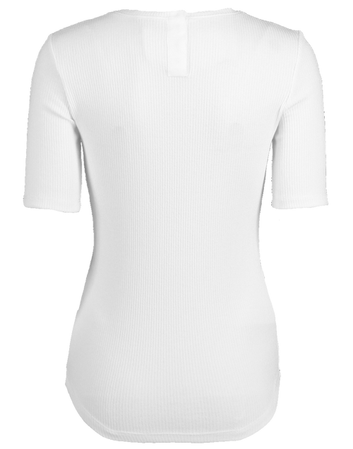 ADAM LIPPES CLOTHINGTOPT-SHIRT Ribbed Jersey Fitted T-Shirt