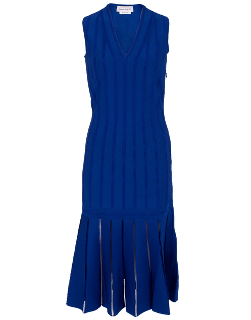 ALEXANDER MCQUEEN CLOTHINGDRESSCASUAL Knit V-Neck Dress