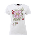 ALEXANDER MCQUEEN CLOTHINGTOPT-SHIRT Rose Embroidered Tee