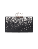 ALEXANDER MCQUEEN HANDBAGCLUTCHES BLACK Flat Pouch Knuckle Clutch