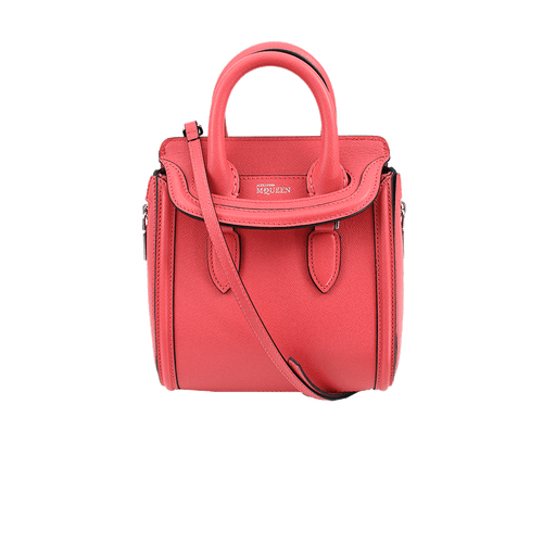 ALEXANDER MCQUEEN HANDBAGTOP HANDLE GERANIUM Geranium Mini Heroine Shoulder Bag