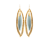 ALEXIS BITTAR JEWELRYBOUTIQUEEARRING BLUEGREY Allegory Floating Sliver Earrings