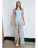 ALEXIS CLOTHINGDRESSCASUAL May Long Lace Dress