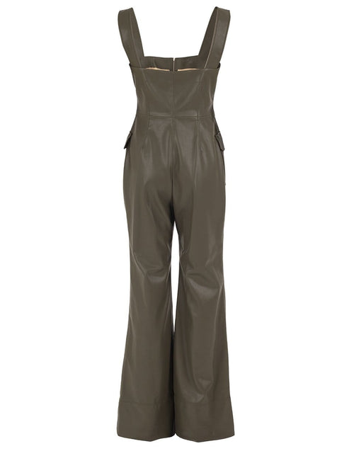 ALEXIS CLOTHINGMISC Reverie Vegan Leather Jumpsuit
