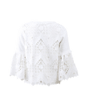 ALEXIS CLOTHINGTOPMISC WHITE / M Tina Crochet Top