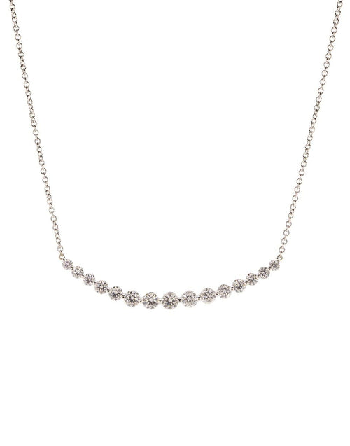 ANITA KO JEWELRYFINE JEWELNECKLACE O WHTGOLD Large Crescent Diamond Necklace