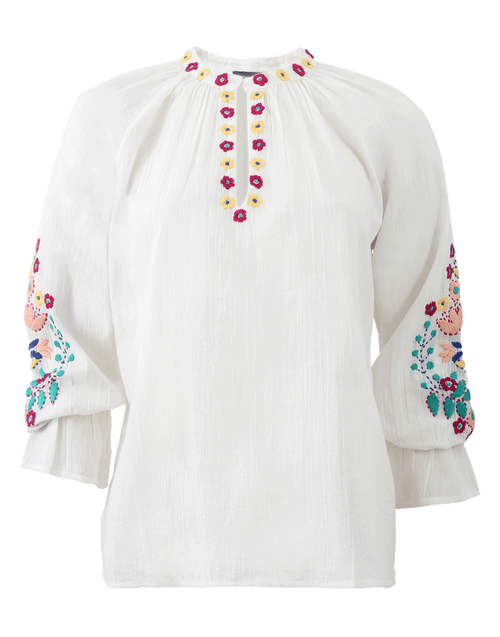 ANTIK BATIK CLOTHINGTOPBLOUSE Embroidered Top
